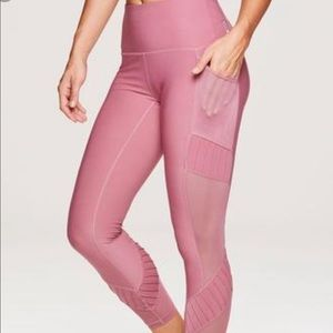 $⬇️ NWT [RBX] 7/8 Ankle Small Dark Pink Leggings